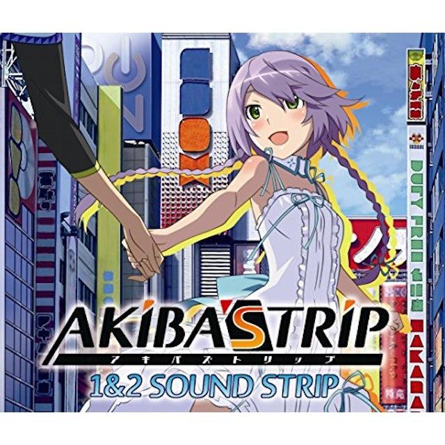 Game Music AKIBA'S TRIP 1 & 2 SOUND STRIP / O.S.T. CD