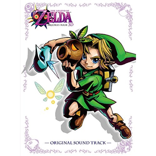 Game Music LEGEND OF ZELDA: MAJORA'S MASK / Original Soundtrack CD