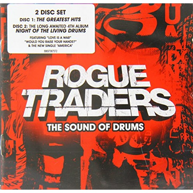 Rogue Traders SOUND OF DRUMS CD