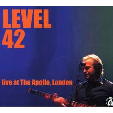 Level 42 LIVE AT THE APOLLO LONDON CD