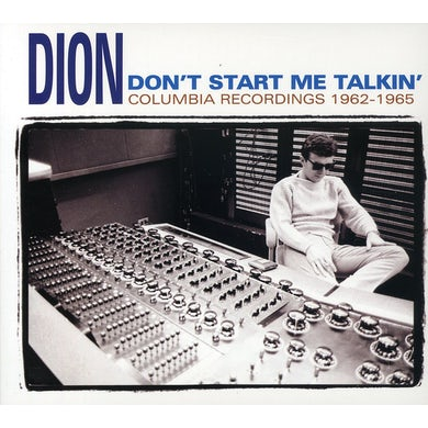 Dion DON'T START ME TALKIN CD