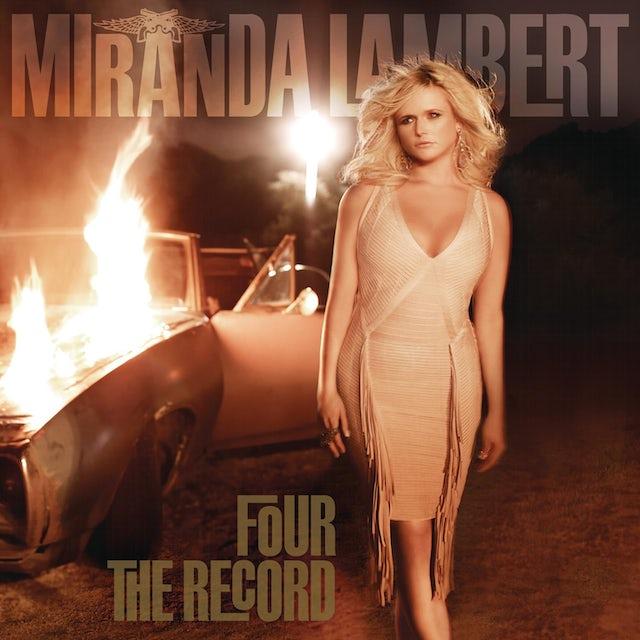 Miranda Lambert FOUR THE RECORD CD