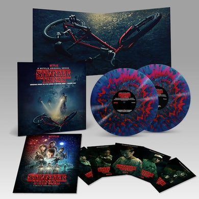 Kyle Dixon STRANGER THINGS: DELUXE EDITION 1 Vinyl Record - Colored Vinyl, Deluxe Edition