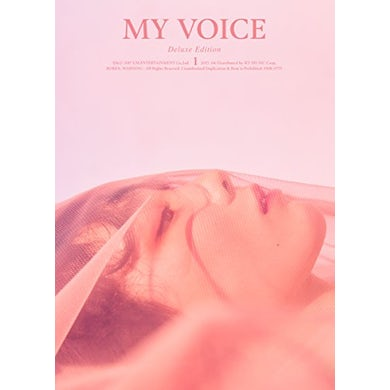 Taeyeon MY VOICE: VOL 1 (DELUXE EDITION) CD