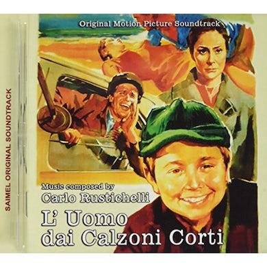 Carlo Rustichelli L'UOMO DAI CALZONI CORTI / Original Soundtrack CD
