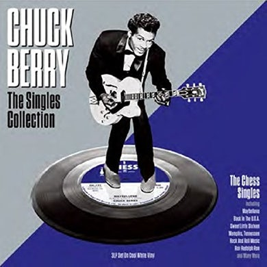 Chuck Berry SINGLES COLLECTION (WHITE VINYL) Vinyl Record