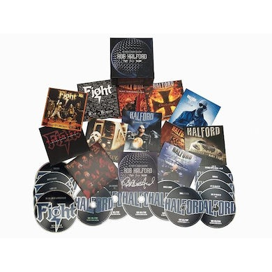 Rob Halford COMPLETE ALBUMS COLLECTION CD