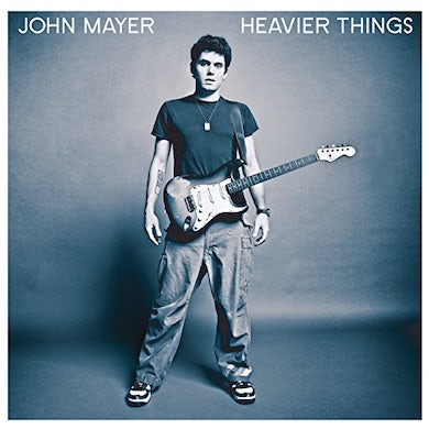John Mayer HEAVIER THINGS Vinyl Record
