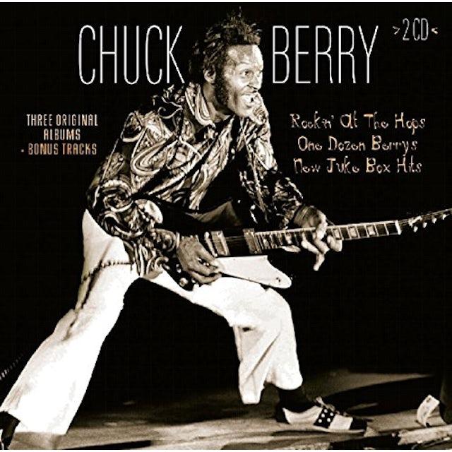 Chuck Berry ROCKIN AT THE HOPS / ONE DOZEN BERRYS / NEW JUKE CD
