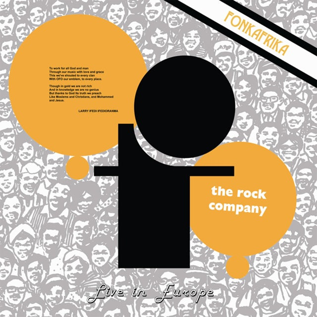 Ofo The Rock Company LIVE IN EUROPE - FONK AFRIKA CD