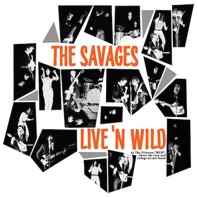 The Savages LIVE'N WILD Vinyl Record