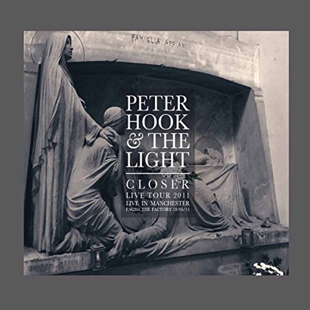 Peter Hook & Light CLOSER - LIVE IN MANCHESTER CD