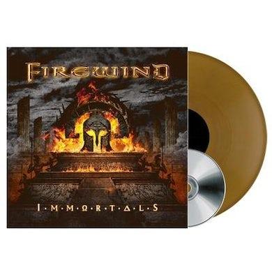 Firewind IMMORTALS (GOLD VINYL) Vinyl Record