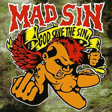 Mad Sin GOD SAVE THE SIN (NEON VINYL) Vinyl Record