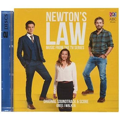Greg J Walker NEWTON'S LAW / Original Soundtrack CD