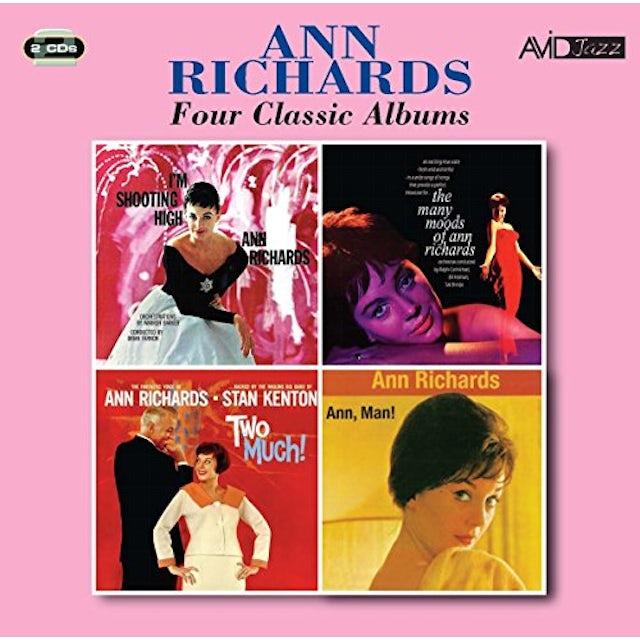 Ann Richards I'M SHOOTING HIGH / MANY MOODS / TWO MUCH / ANN CD