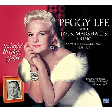 Peggy Lee SWINGIN' BRIGHTLY & GENTLY CD