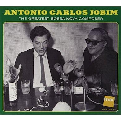 Antonio Carlos Jobim GREATEST BOSSA NOVA COMPOSER CD