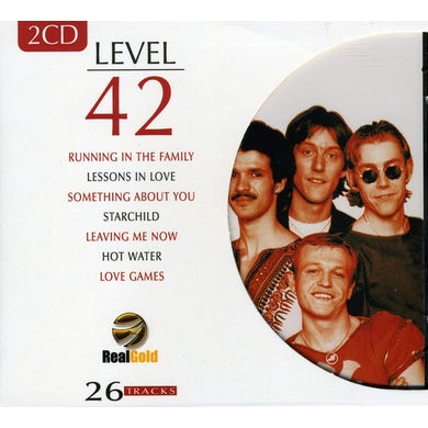 Level 42 REAL GOLD CD