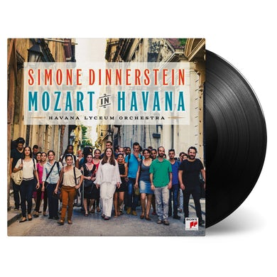 Simone Dinnerstein MOZART IN HAVANA Vinyl Record