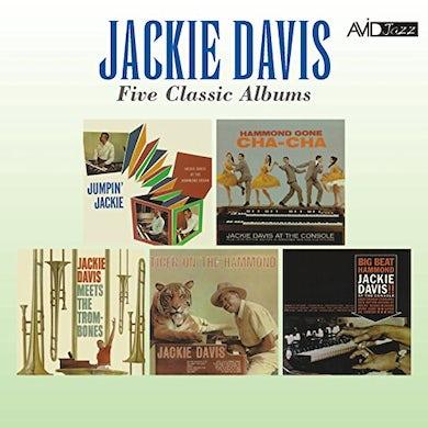 Jackie Davis JUMPIN' JACKIE / HAMMOND GONE CHA CHA / MEETS THE CD