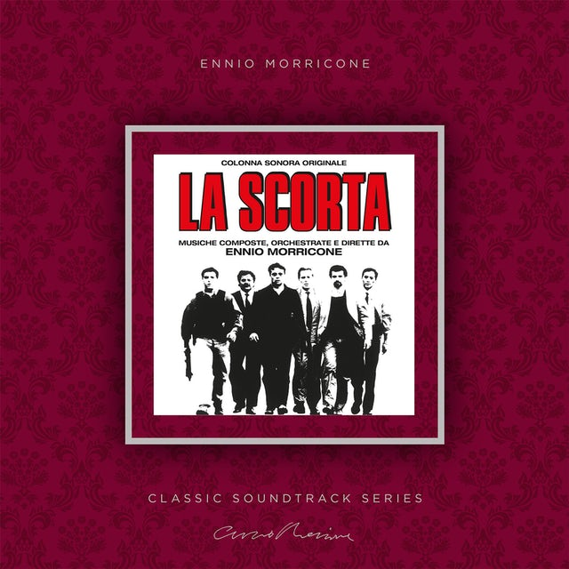 Ennio Morricone LA SCORTA / Original Soundtrack Vinyl Record