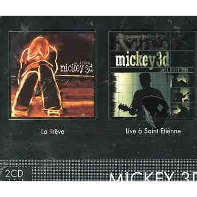 Mickey 3D LIVE ST ETIENNE / LA TREVE CD
