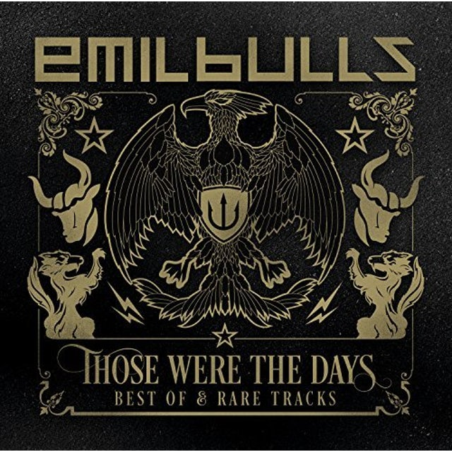EMIL BULLS THOSE WERE THE DAYS (BEST OF & RARE TRACKS) CD