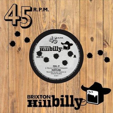 Hurtling / Creepyneighbour FEEL IT / BE FRIENDS (CLEAR BROWN VINYL) Vinyl Record