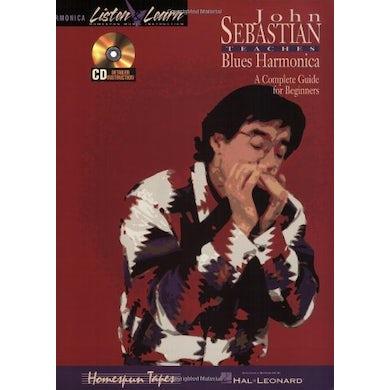 John Sebastian BEGINNING BLUES HARMONICA LISTEN & LEARN CD