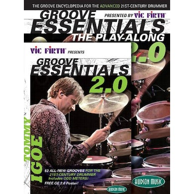 Tommy Igoe GROOVE ESSENTIALS PLAY ALONG COMBO PACK 2.0 CD