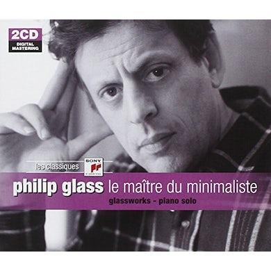 Philip Glass MAITRE DU MINIMALISTE CD