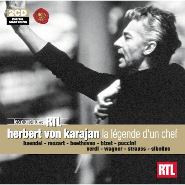 Herbert Von Karajan RTL: LA LEGENDE D'UN CHEF CD