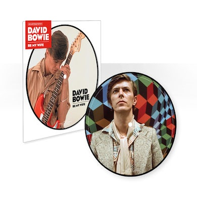 David Bowie BE MY WIFE (40TH ANNIVERSARY) Vinyl Record