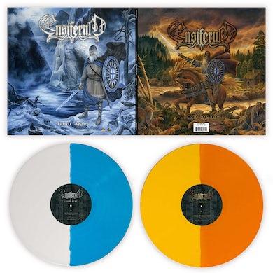 Ensiferum VICTORY SONGS & FROM AFAR (SPLIT COLOURED VINYL) Vinyl Record