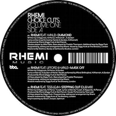 Rhemi CHOICE CUTS VOL 1 Vinyl Record