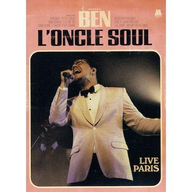 Ben L'Oncle Soul LIVE PARIS: DELUXE (2CD+DVD PAL REGION 0) CD