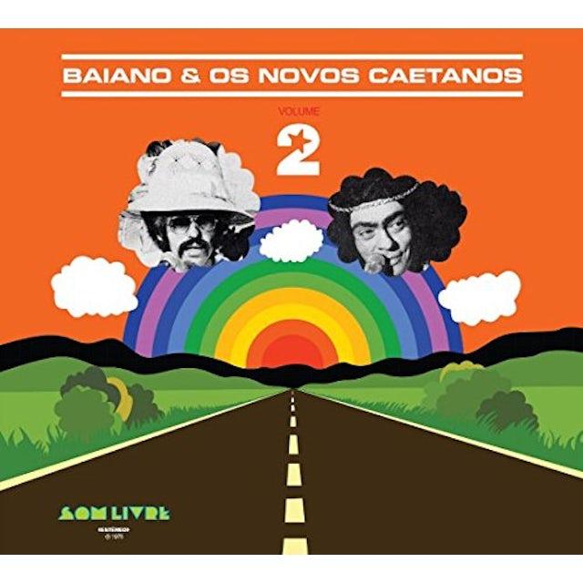 Baiano & Os Novos Caetanos VOLUME 2 CD