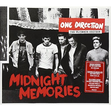 One Direction MIDNIGHT MEMORIES: ULTIMATE EDITION CD