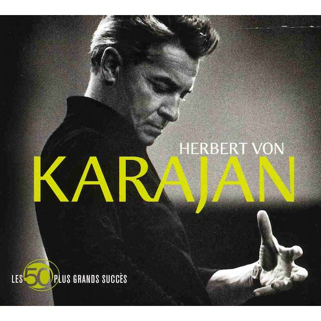 Herbert Von Karajan LES 50 PLUS GRANDS SUCCESS CD