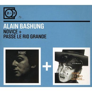 Alain Bashung NOVICE / PASSE LE RIO GRANDE CD