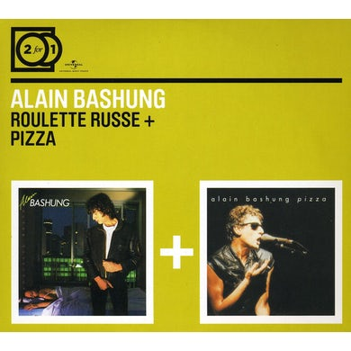 Alain Bashung ROULETTE RUSSE / PIZZA CD