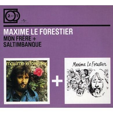 Maxime Le Forestier MON FRERE + SALTIMBANQUE CD
