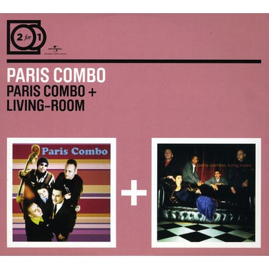 Paris Combo LIVING ROOM / PARSI COMBO CD