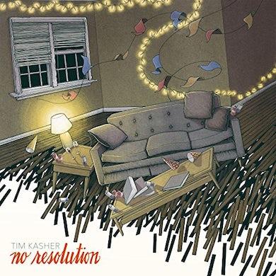 Tim Kasher NO RESOLUTION (COLORED VINYL) Vinyl Record