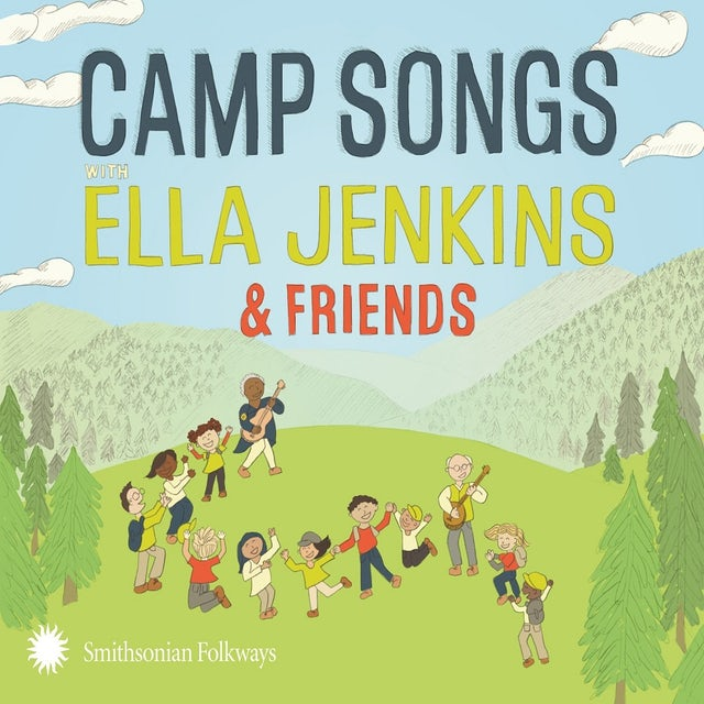 CAMP SONGS WITH ELLA JENKINS & FRIENDS CD