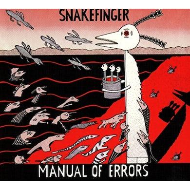 Snakefinger MANUAL OF ERRORS CD