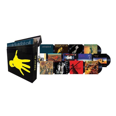 Midnight Oil VINYL COLLECTION Vinyl Record Box Set