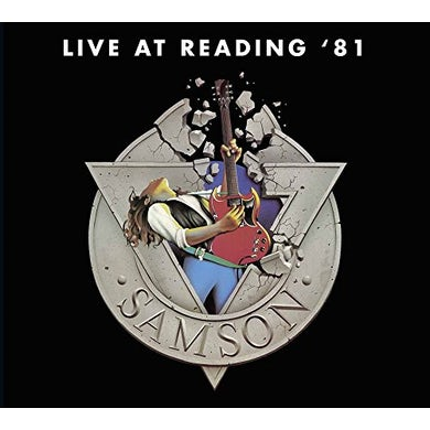 Samson LIVE AT READING 81 CD