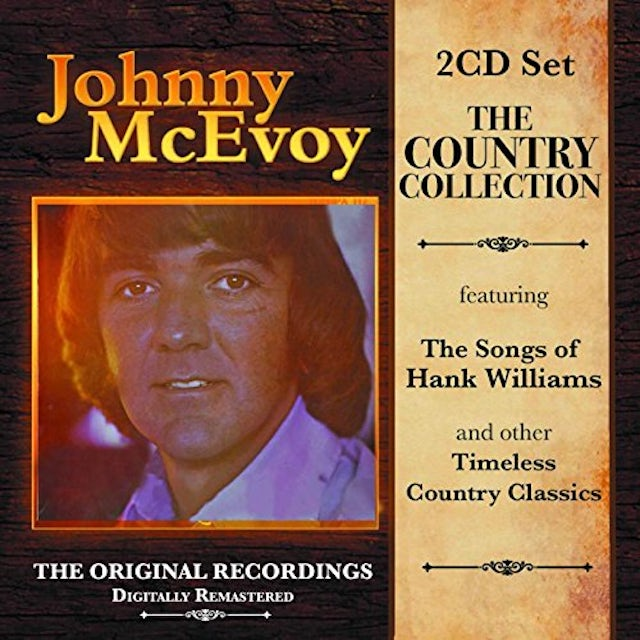 Johnny McEvoy COUNTRY COLLECTION CD